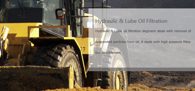 Hydraulic & Lube  oilFiltration